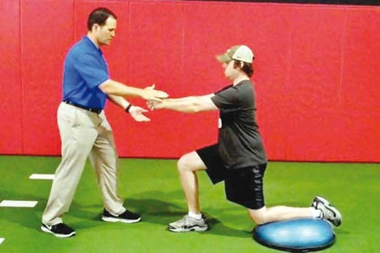 تمرینات تقویت عضله کمر