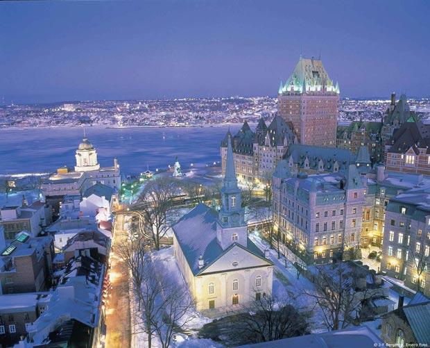 زیباترین شهرهای برفی جهان