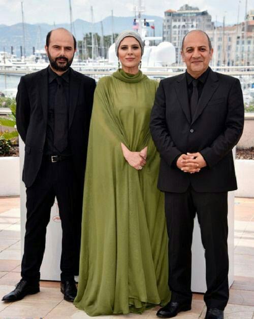 عکس: لباس متفاوت بازیگر ایرانی در کن