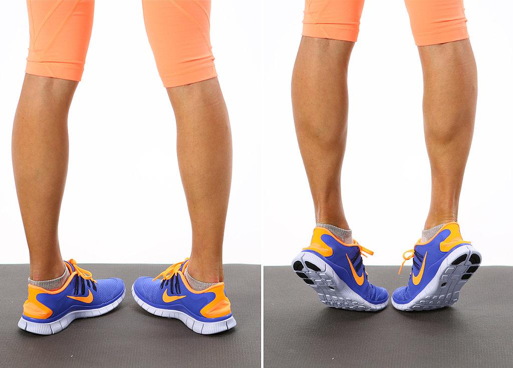 Calf-Raises بلند کردن ساقها