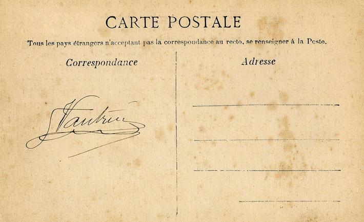 حقه های افراد محلی برای گول زدن گردشگرها,Frenchcartpostal