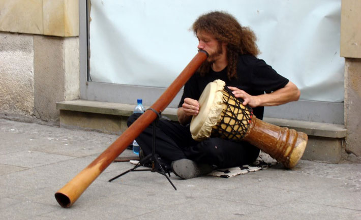 Musician-street