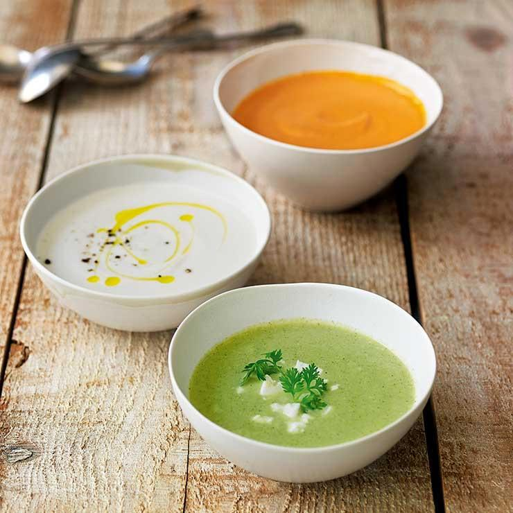 سوپ سبزیجات ساده و خوشمزه