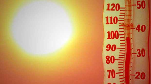 هوای گرم تابستان
