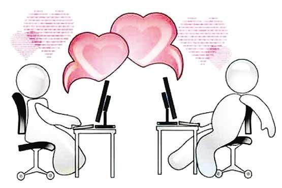 عشق اینترنتی love