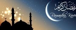 پیام تبریک رمضان به انگلیسی با ترجمه فارسی