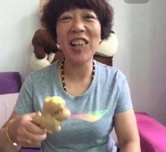 زن چینی همه چیز خوار