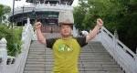 ترفند عجیب مرد چینی برای کاهش وزن!+عکس