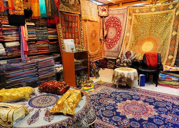 جاهای دیدنی دبی,جاذبه گردشگری شهر دبی - دیره سوک-uae-dubai-deira-souks-carpet-shop-in-souk