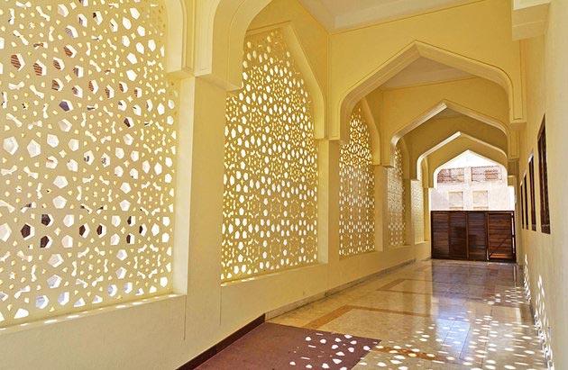 جاهای دیدنی دبی,جاذبه گردشگری شهر دبی - مسجد بستکیه-uae-dubai-bastakiya-mosque