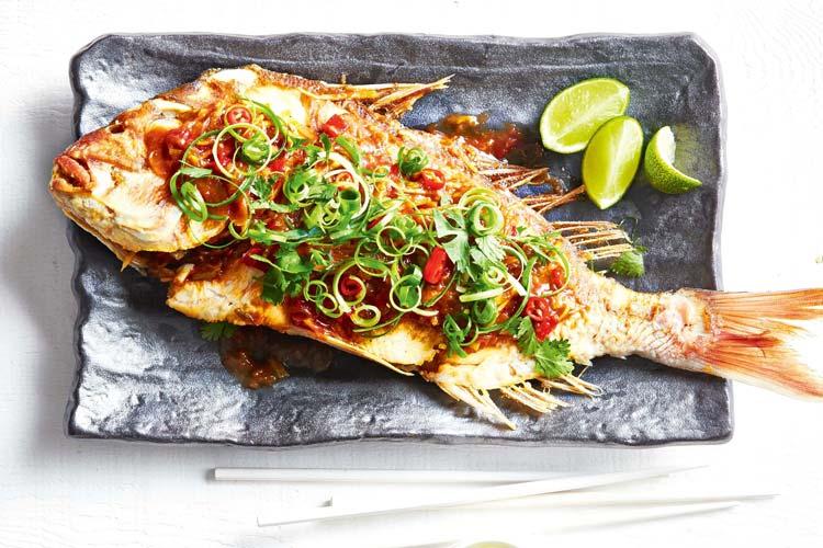 طرز تهیه ماهی سرخ شده خوشمزه