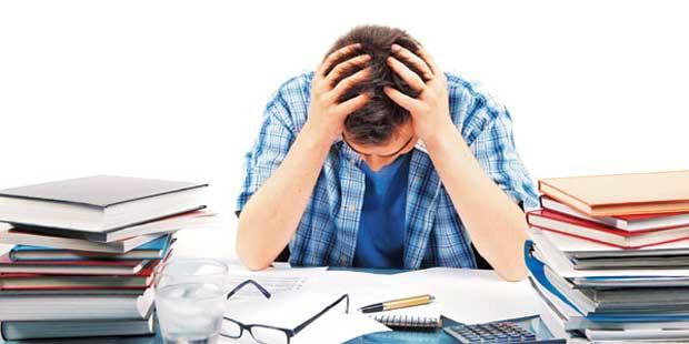 کاهش استرس کنکور stress