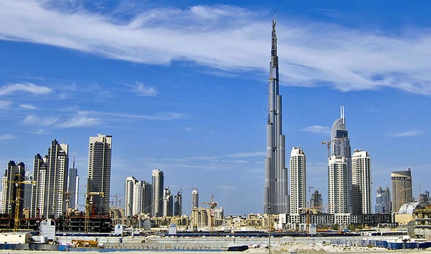 جاهای دیدنی دبی,جاذبه گردشگری شهر دبی - uae-dubai-burj-khalifa برج خلیفه