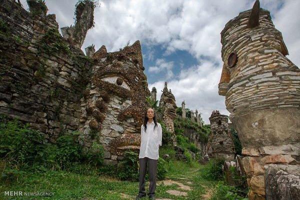 ساخت قلعه سنگی