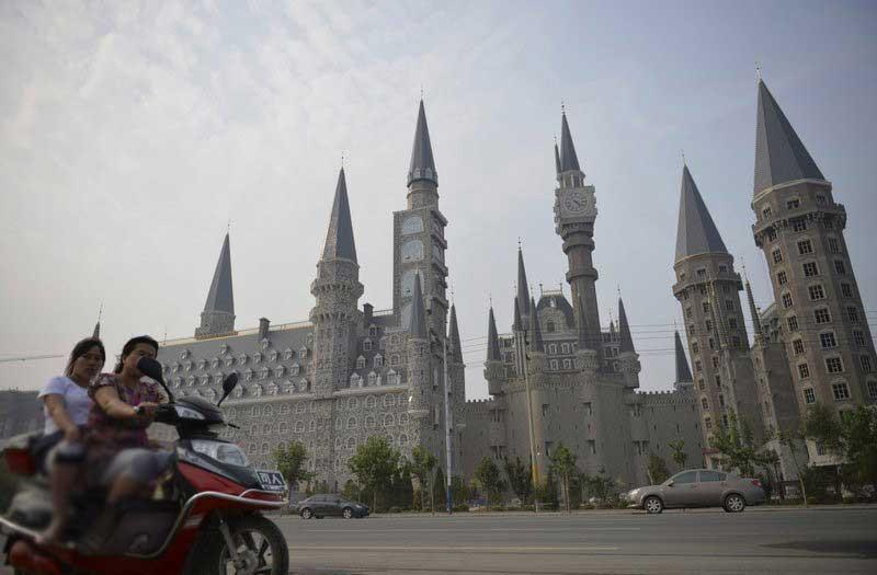مدرسه تقلبی جادوگری هاگوارتز در چین