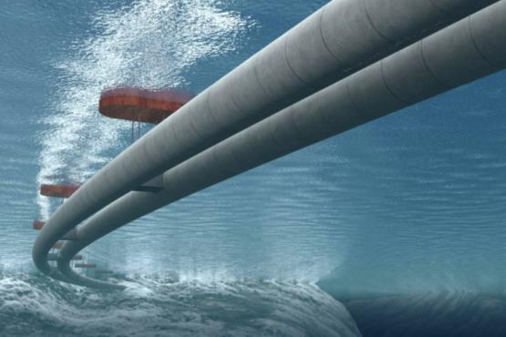 جاده زیر آب نروژ