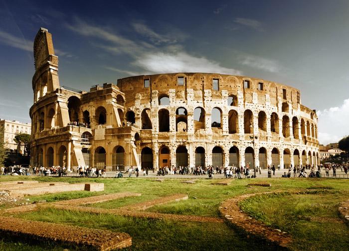 کلزیوم مشهور ایتالیا در شهر تاریخی رم
