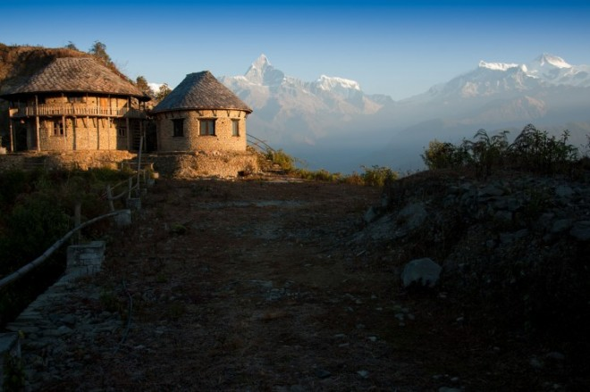 خانه کوهستانی در نپال