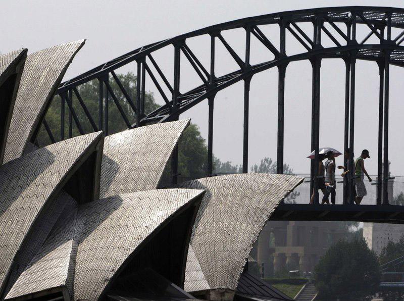 خانه اپرا تقلبی در چین