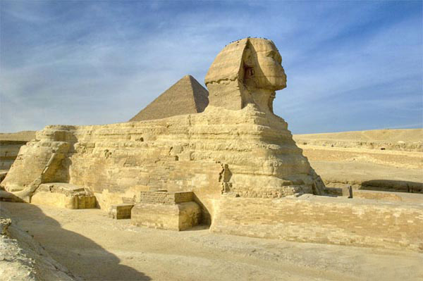 مجسمه مشهور و اصلی «ابوالهول»