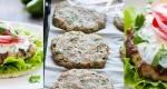 طرز تهیه همبرگر گوشت بوقلمون و کدو سبز+سس ویژه