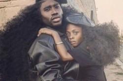 مدل عجیب موی پدر و دختر مشهور!+عکس