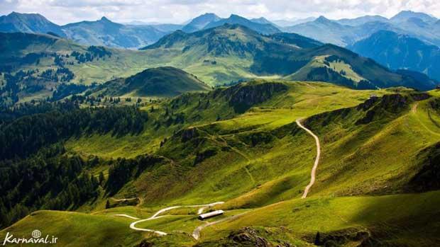 طبیعت پاکستان تپه های موری