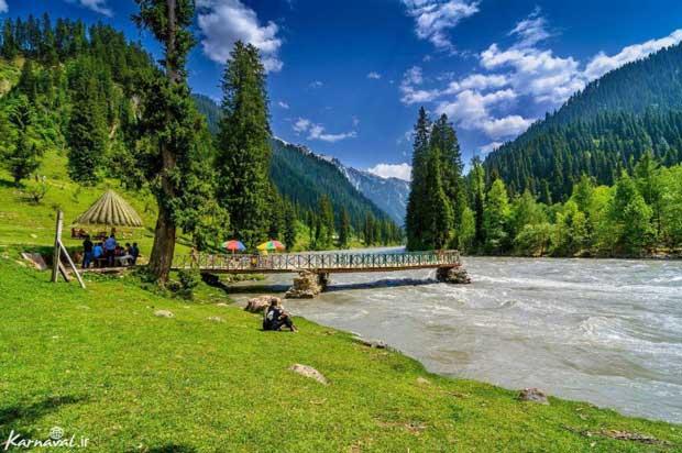 pakistanپاکستان دره ی نیلوم