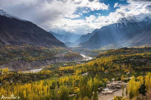 pakistan پاکستان دره هونزا