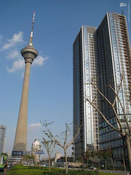 برج رادیو و تلویزیونی تیانجین چین- ارتفاع برج: 415 متر