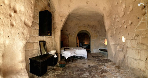 هتل متفاوت ایتالیا LE GROTTE DELLA CIVITA