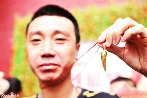 مسابقه خوردن فلفل آتشین چین