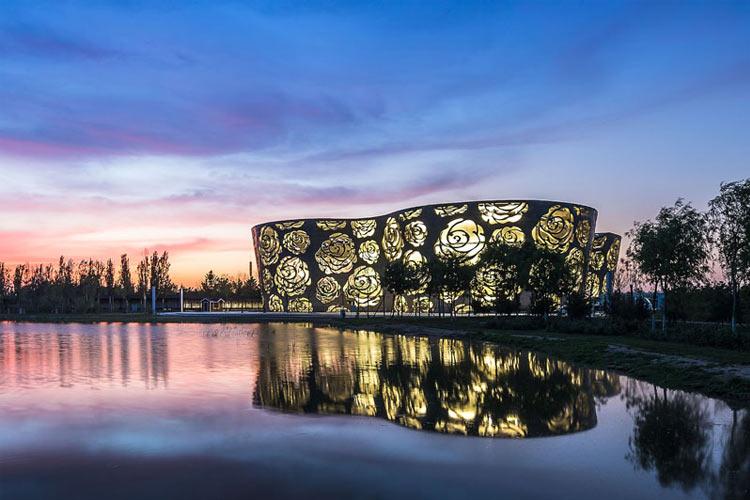 موزه گل رز چین