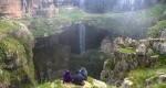 آبشار غار سه پله؛ جاذبهای دیدنی در لبنان