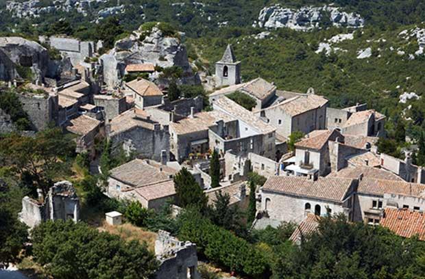 دهکده Les Baux فرانسه