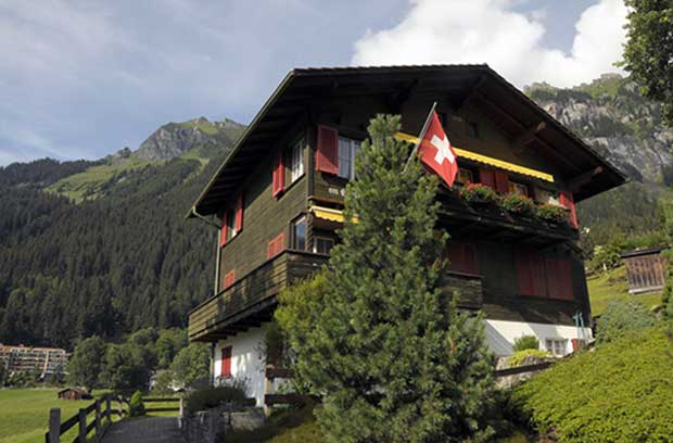 دهکده ونگن (Wengen) سوئیس