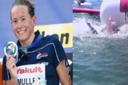 شناگر زنی که برای مدال المپیک رقیب خود را غرق کرد!+عکس