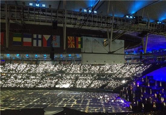 شروع مراسم افتتاحیه المپیک ۲۰۱۶ ریو