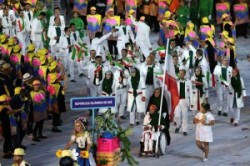 مراسم افتتاحیه المپیک ریو+عکس