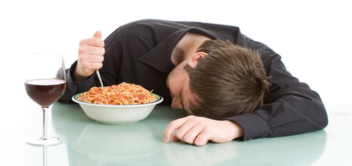 Sleep On A Full Stomach