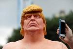 Trump-statue مجسمه برهنه ترامپ