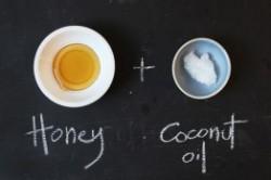 درمان ترک لب با روغن نارگیل و عسل