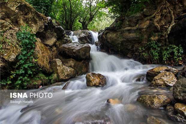 تصاویر آبشار ارتوکند مشهد