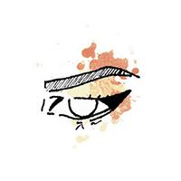چگونه خط چشم گربه ای بکشیم