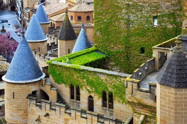 زیباترین شهرهای اسپانیا Olite