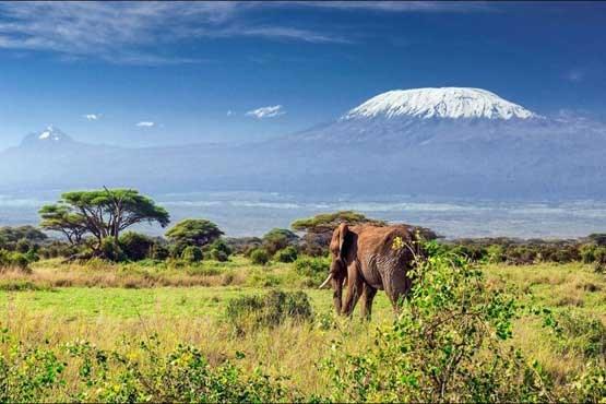 زیباترین آتشفشان دنیا