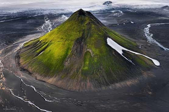 زیباترین آتشفشون دنیا