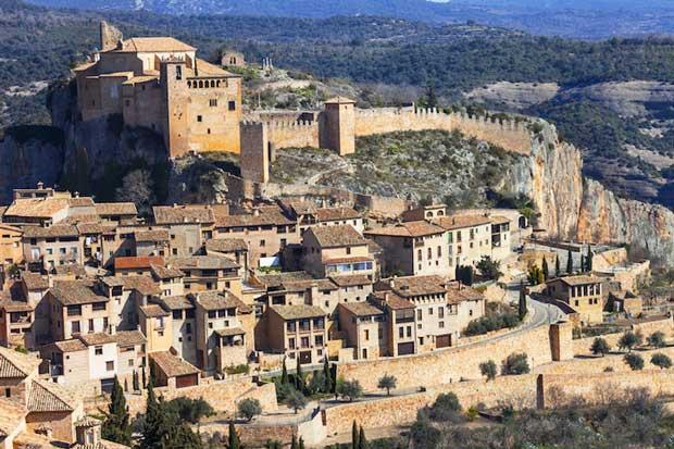 زیباترین شهرهای اسپانیا الکیوزار-alquezar