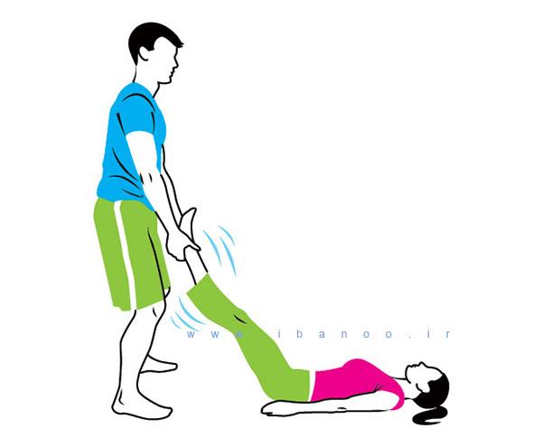 حرکات کششی دو نفره,cuople-stretch-2