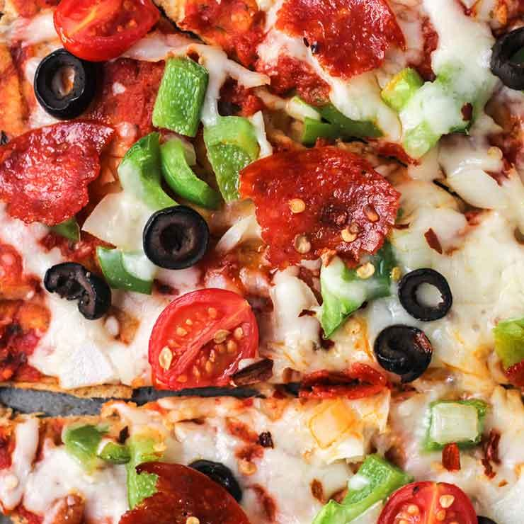 پیتزای بدون گلوتن